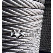 Канат (трос) стальной двойной свивки типа ЛК-Р