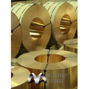 Лента бронзовая БрОФ. Цена от 540 грн/кг