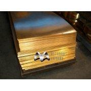 Лист бронзовый ОЦС. Цена от 390 грн/кг