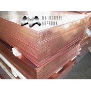 Лист Медный М2. Цена от 290 грн/кг