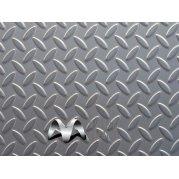 Лист рифленый сталь 3ПС. Цена от 23000 грн/тонна