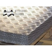 Лист рифленый алюминиевый 1050. Цена от 1003 грн/шт