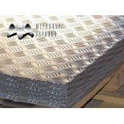Лист рифленый алюминиевый АД0. Цена от 1003 грн/шт