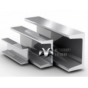 Швеллер алюминиевый АД0
